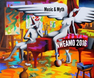 NWEAMO 2016 art by Mark Kostabi